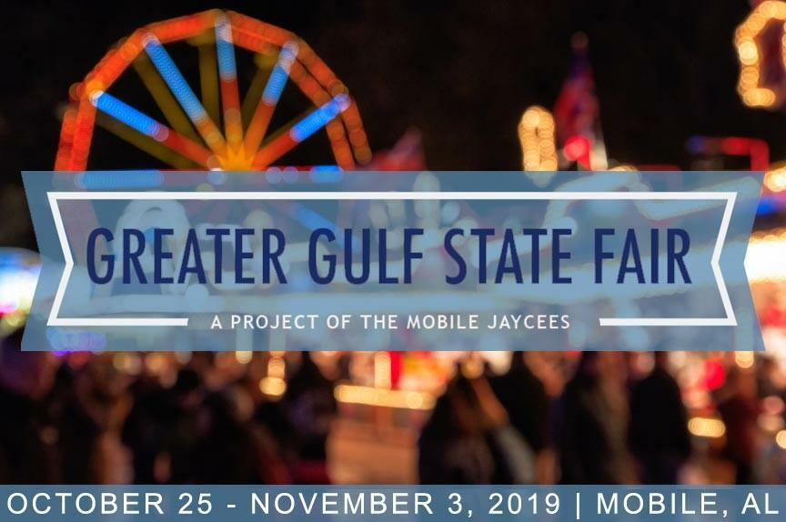 GREATER GULF STATE FAIR PROMOTIONAL POSTER